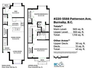 """Photo 20: 220 5588 PATTERSON Avenue in Burnaby: Central Park BS Townhouse for sale in """"DECORUS"""" (Burnaby South)  : MLS®# R2111727"""