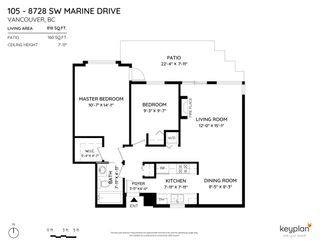 """Photo 28: 105 8728 SW MARINE Drive in Vancouver: Marpole Condo for sale in """"RIVERVIEW COURT"""" (Vancouver West)  : MLS®# R2582208"""