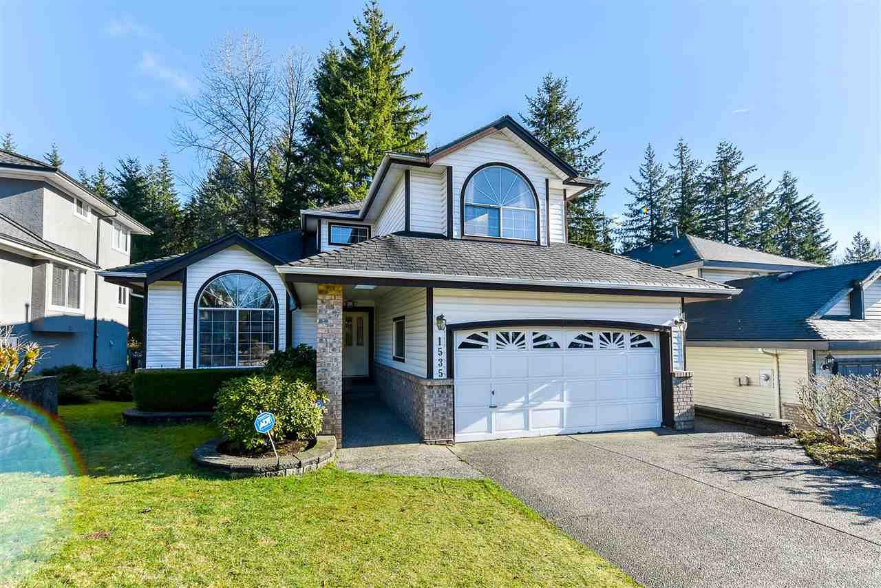Main Photo: 1535 BRAMBLE Lane in Coquitlam: Westwood Plateau House for sale : MLS®# R2535087