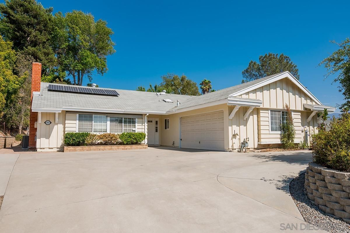 Main Photo: SPRING VALLEY House for sale : 4 bedrooms : 3957 Agua Dulce Blvd