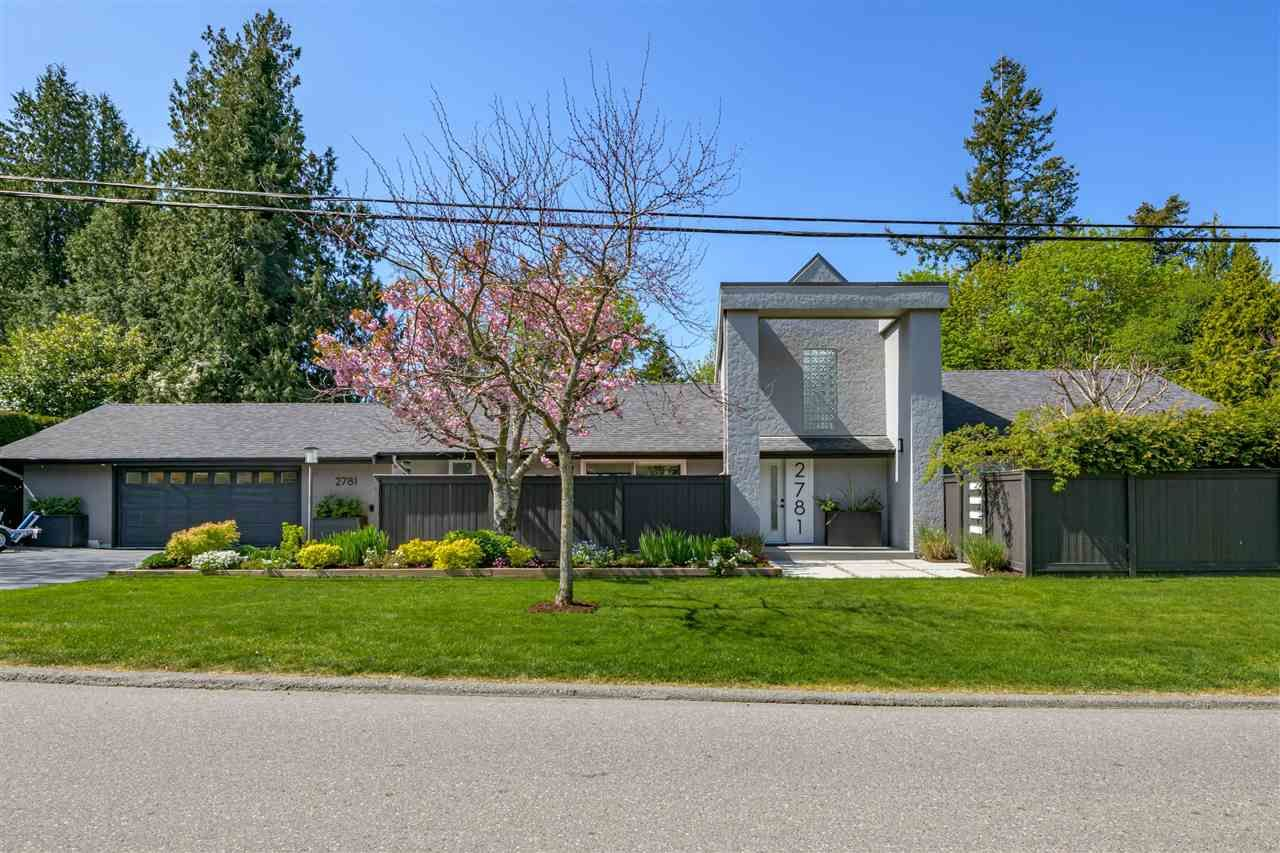 """Main Photo: 2781 126 Street in Surrey: Crescent Bch Ocean Pk. House for sale in """"Crescent Heights"""" (South Surrey White Rock)  : MLS®# R2571292"""