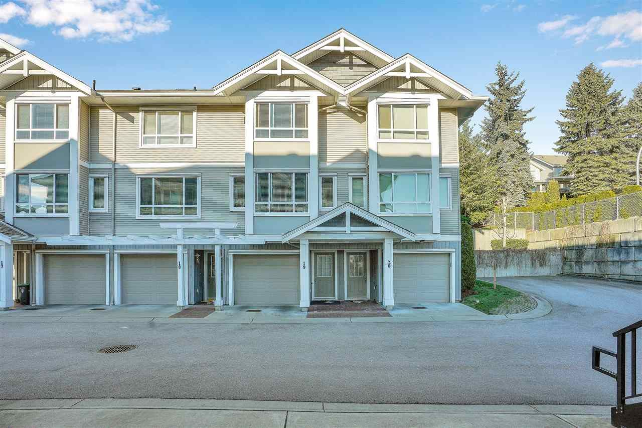 "Main Photo: 19 20195 68 Avenue in Langley: Willoughby Heights Townhouse for sale in ""HIGHLANDS"" : MLS®# R2530859"