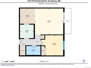 Photo 8: 214 175 Centennial Dr in COURTENAY: CV Courtenay East Condo for sale (Comox Valley)  : MLS®# 842619