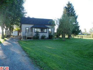Photo 1: 6203 BELL Road in Abbotsford: Matsqui House for sale : MLS®# F1023718