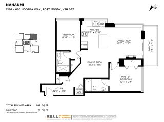 """Photo 36: 1201 660 NOOTKA Way in Port Moody: Port Moody Centre Condo for sale in """"Nahanni"""" : MLS®# R2497996"""