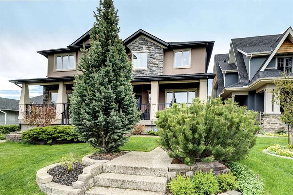 Main Photo: 731 24 Avenue NW in Calgary: Mount Pleasant Semi Detached for sale : MLS®# A1117382