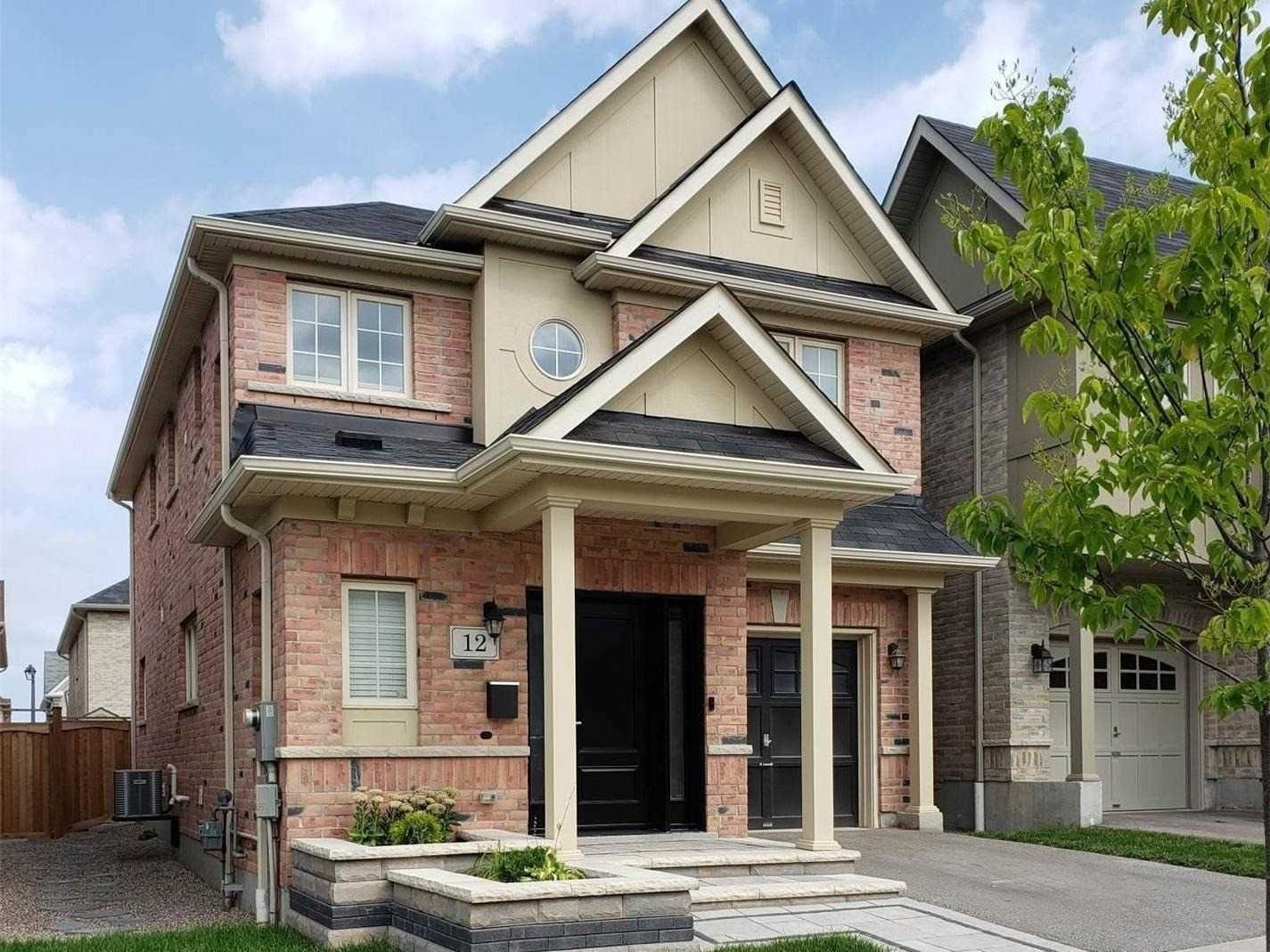 Main Photo: 12 Gaskin Street in Ajax: Central East House (2-Storey) for sale : MLS®# E5116046