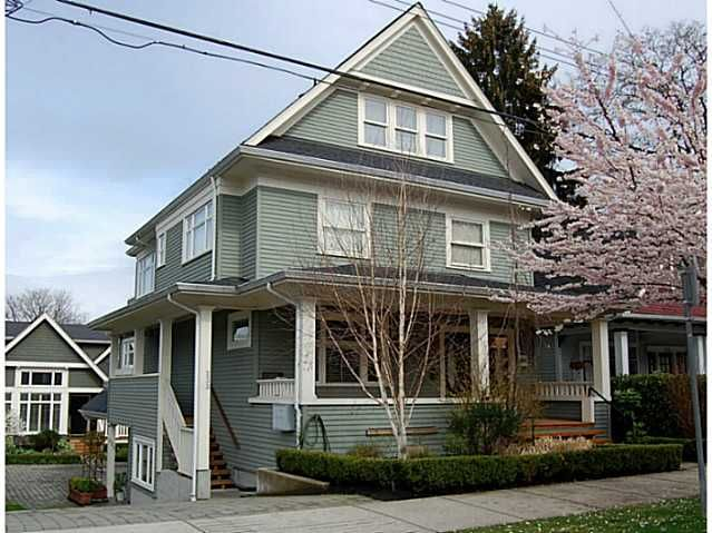 Main Photo: 235 W 11TH Avenue in Vancouver: Mount Pleasant VW Townhouse for sale (Vancouver West)  : MLS®# V819438