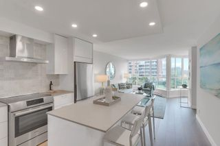 """Photo 5: 405 1490 PENNYFARTHING Drive in Vancouver: False Creek Condo for sale in """"Harbour Cove"""" (Vancouver West)  : MLS®# R2615809"""