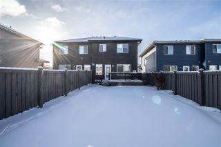 Photo 39: 17518 13 Avenue in Edmonton: Zone 56 House Half Duplex for sale : MLS®# E4227830