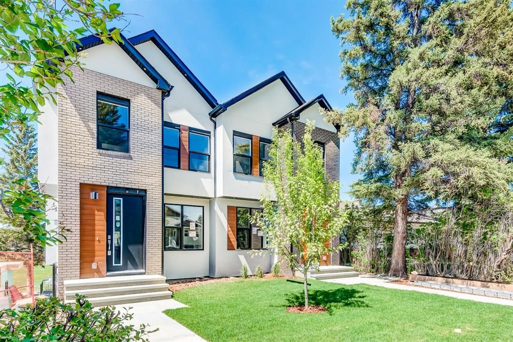 Photo 2: Photos: #1 4207 2 Street NW in Calgary: Highland Park Semi Detached for sale : MLS®# A1111957