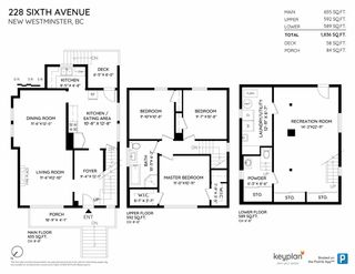 """Photo 2: 228 SIXTH Avenue in New Westminster: Queens Park House for sale in """"Queens Park"""" : MLS®# R2429899"""