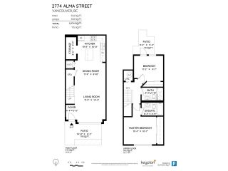 """Photo 21: 2774 ALMA Street in Vancouver: Kitsilano Townhouse for sale in """"Twenty On The Park"""" (Vancouver West)  : MLS®# R2501470"""