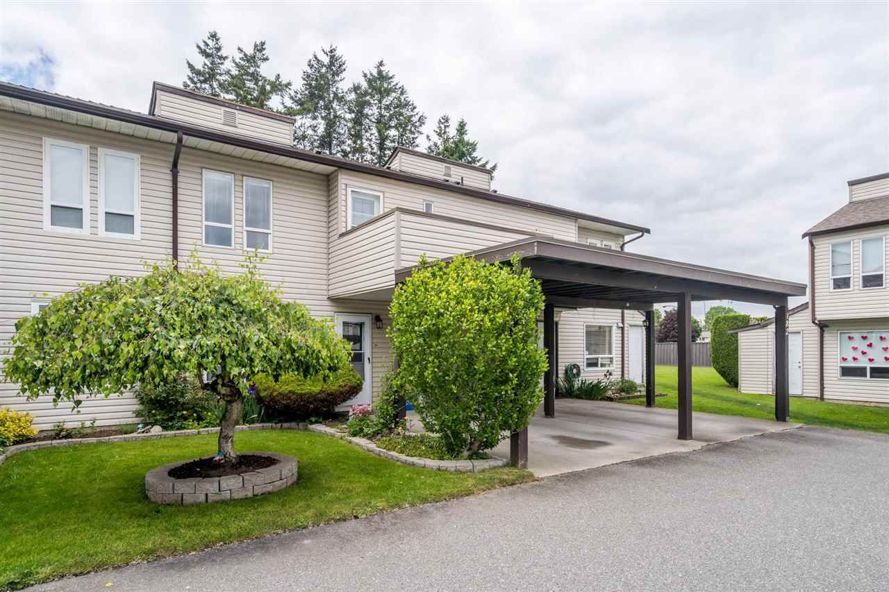 """Main Photo: 184 2844 273 Street in Langley: Aldergrove Langley Townhouse for sale in """"CHELSEA COURT"""" : MLS®# R2584478"""