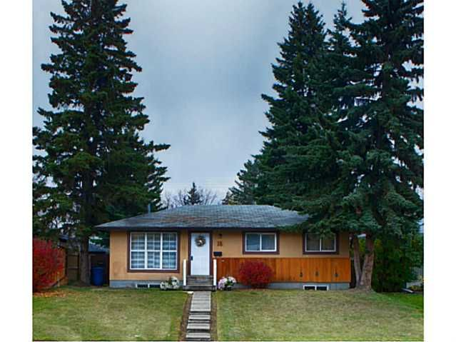 Main Photo: 16 ARBOUR Crescent SE in Calgary: Acadia Residential Detached Single Family for sale : MLS®# C3640251