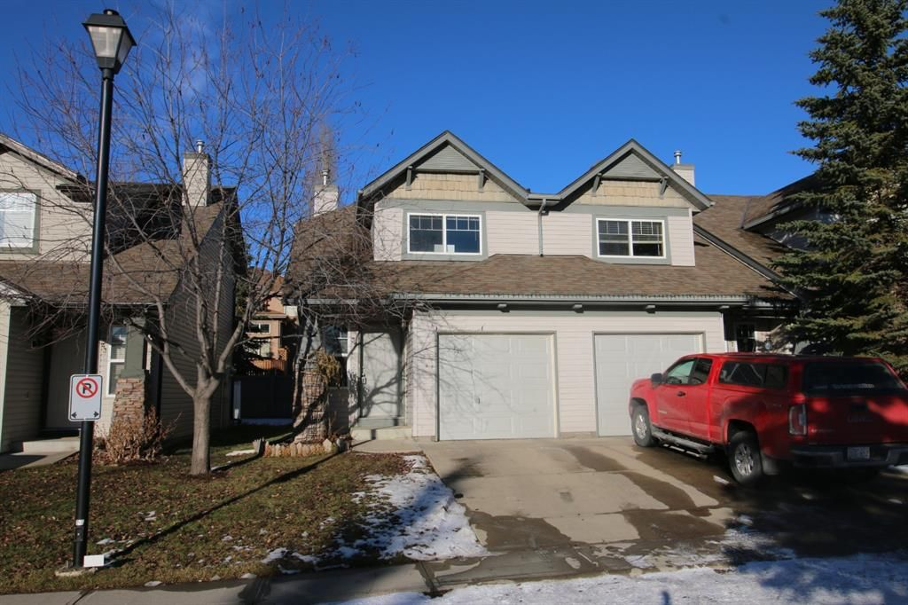 Main Photo: 39 Everstone Place SW in Calgary: Evergreen Row/Townhouse for sale : MLS®# A1066330