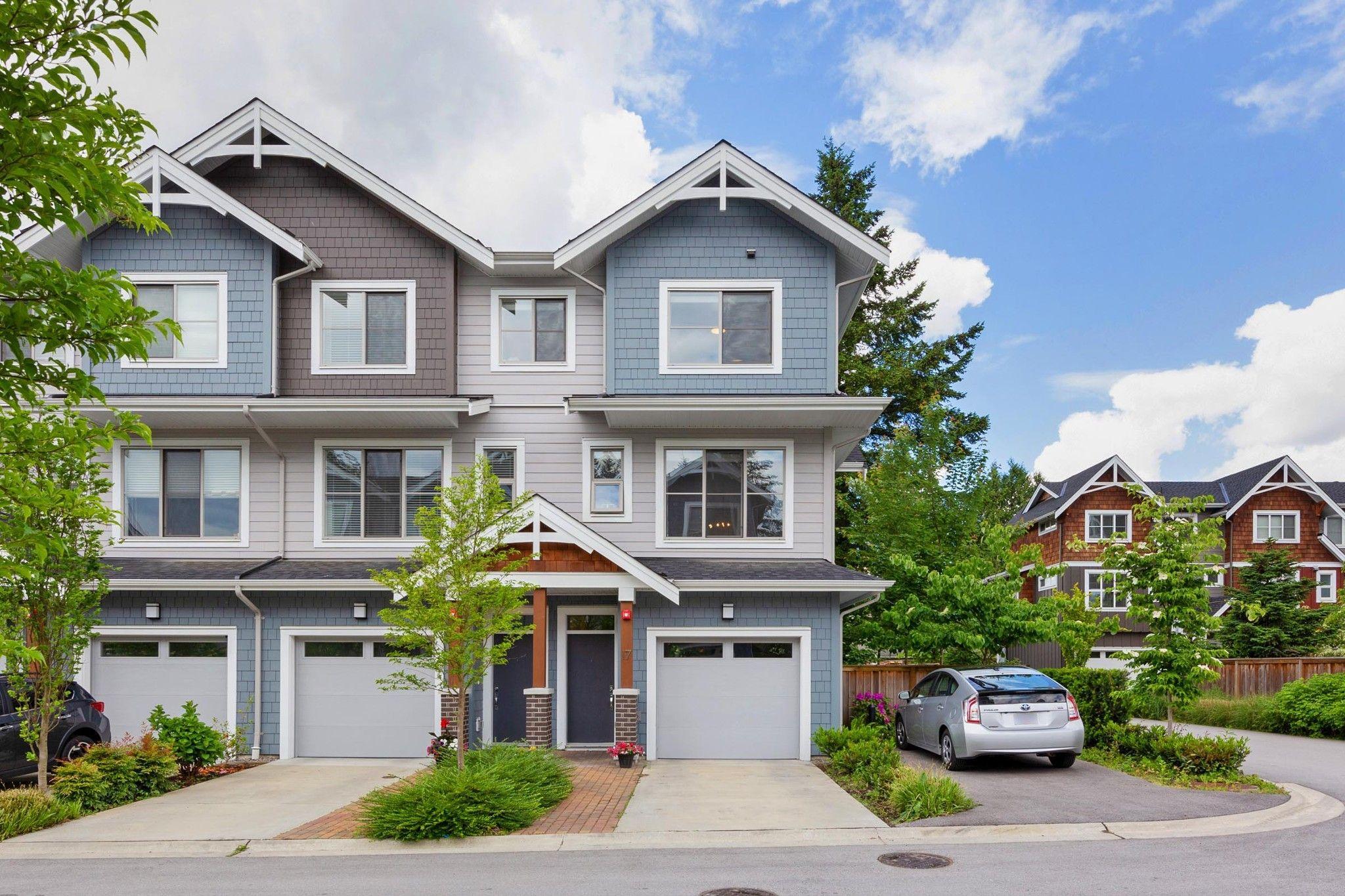 "Main Photo: 17 2145 PRAIRIE Avenue in Port Coquitlam: Glenwood PQ Townhouse for sale in ""SALISBURY SOUTH"" : MLS®# R2587168"