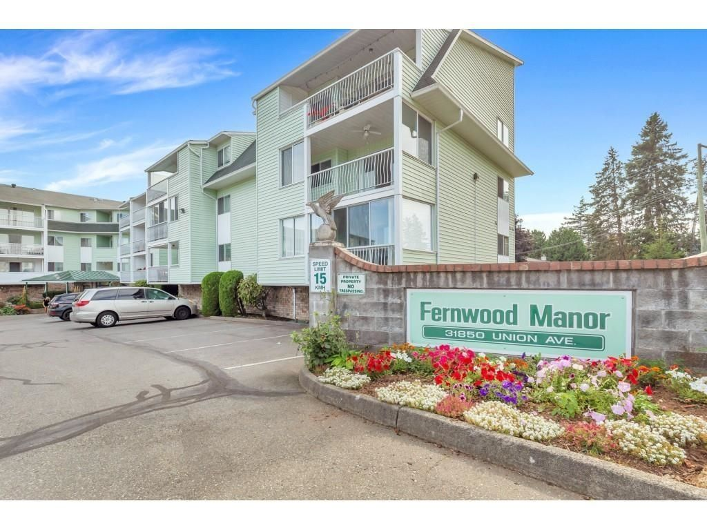 """Main Photo: 218 31850 UNION Avenue in Abbotsford: Abbotsford West Condo for sale in """"FERNWOOD MANOR"""" : MLS®# R2625573"""