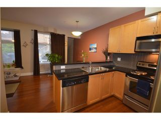 "Photo 2: 105 5155 WATLING Street in Burnaby: Metrotown Townhouse for sale in ""METRO POINTE GARDEN"" (Burnaby South)  : MLS®# V982906"