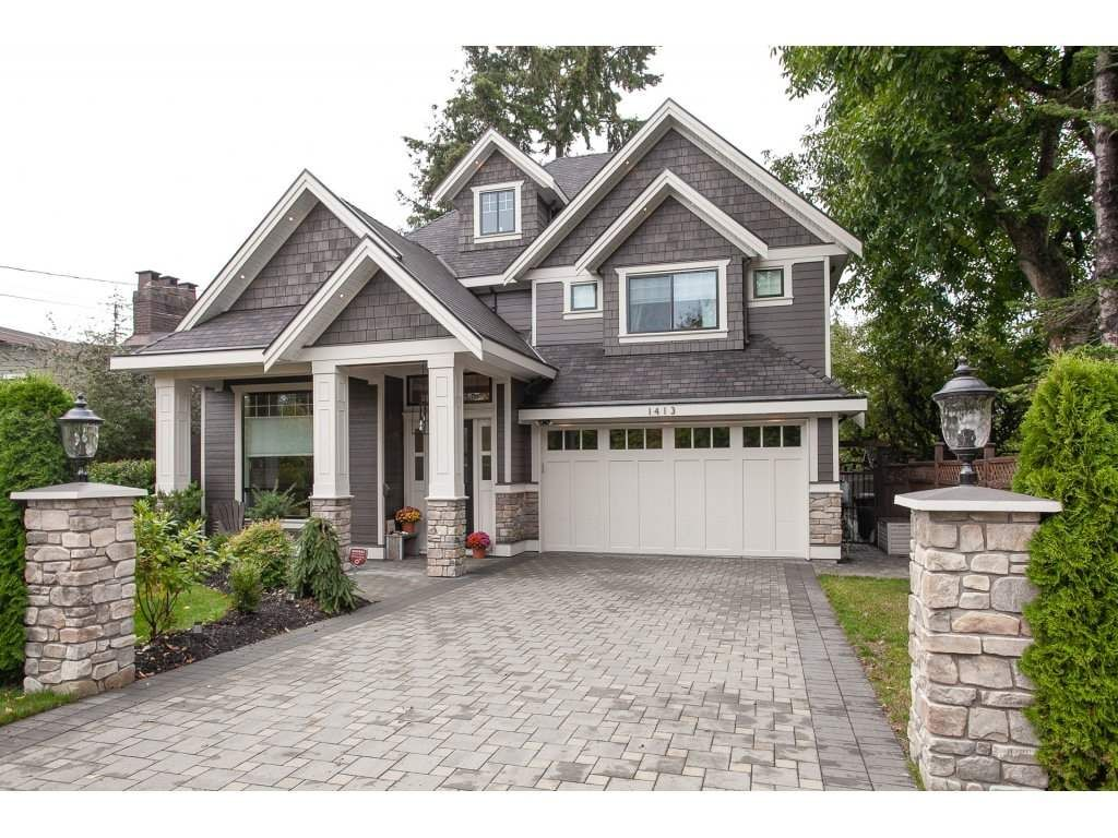 Main Photo: 1413 130 Street in Surrey: Crescent Bch Ocean Pk. House for sale (South Surrey White Rock)  : MLS®# R2311122