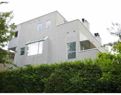Main Photo: 1610 MAPLE ST in Vancouver: Kitsilano Townhouse for sale (Vancouver West)  : MLS®# V594740