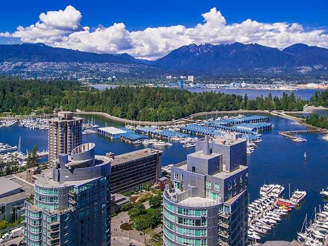 """Main Photo: 3202 1499 W PENDER Street in Vancouver: Coal Harbour Condo for sale in """"WEST PENDER PLACE"""" (Vancouver West)  : MLS®# V1010625"""