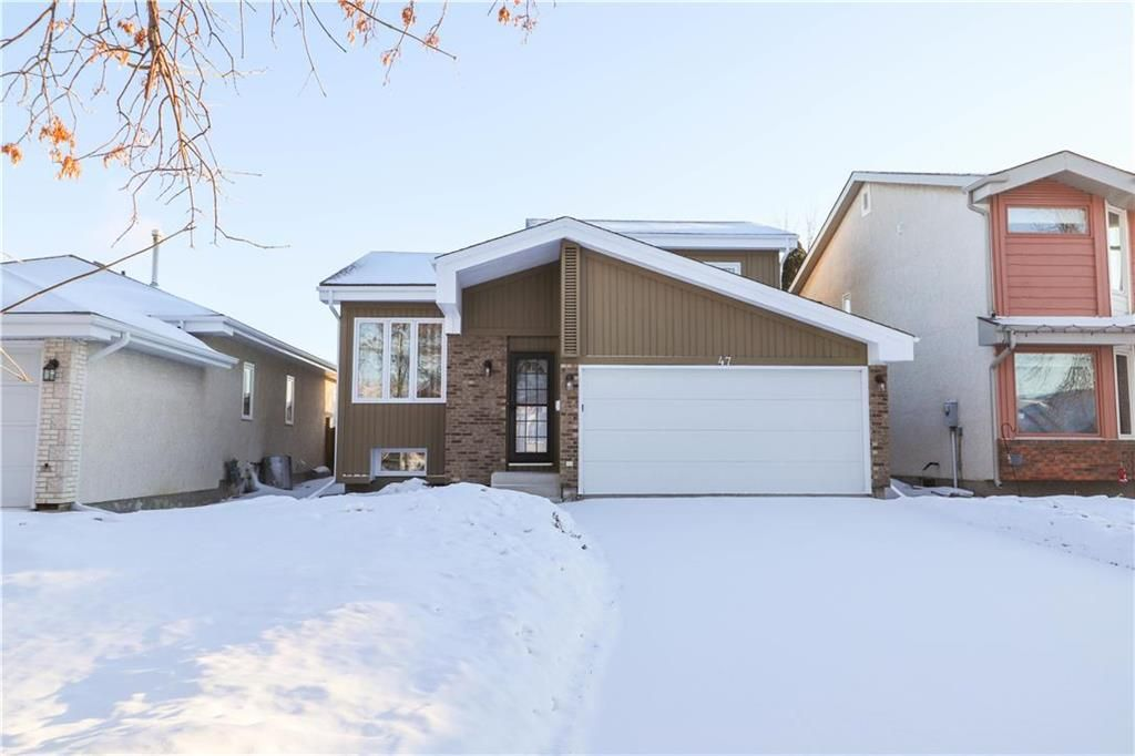 Main Photo: 47 George Marshall Way in Winnipeg: Canterbury Park Residential for sale (3M)  : MLS®# 202103989