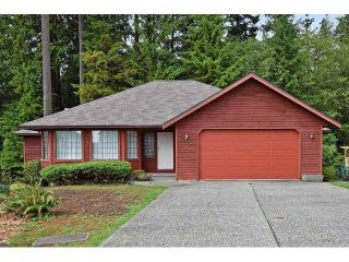 Photo 1: 1306 CAMELLIA Court in PORT MOODY: Mountain Meadows House for sale (Port Moody)  : MLS®# V1141519