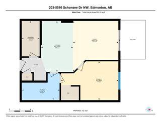 Photo 19: 203 5510 SCHONSEE Drive in Edmonton: Zone 28 Condo for sale : MLS®# E4237061