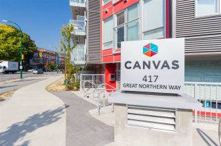 """Photo 19: 408 417 GREAT NORTHERN Way in Vancouver: Strathcona Condo for sale in """"Canvas"""" (Vancouver East)  : MLS®# R2553375"""