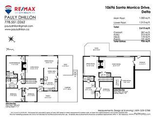 Photo 2: 10696 SANTA MONICA Drive in Delta: Nordel House for sale (N. Delta)  : MLS®# R2425540