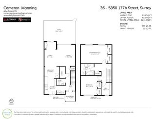 """Photo 30: 36 5850 177B Street in Surrey: Cloverdale BC Townhouse for sale in """"Dogwood Gardens"""" (Cloverdale)  : MLS®# R2613393"""