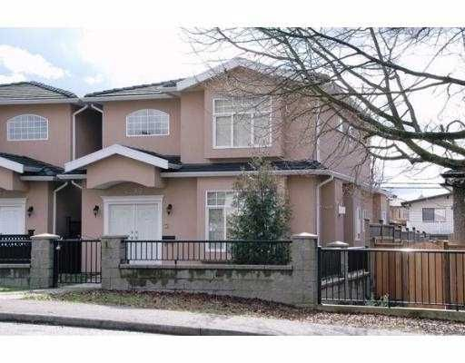 Main Photo: 4290 PARKER Street in Burnaby: Willingdon Heights 1/2 Duplex for sale (Burnaby North)  : MLS®# V630480