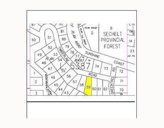 """Photo 3: # LOT 59 TIMBERLINE RD in No_City_Value: Pender Harbour Egmont Land for sale in """"COVE CAY"""" (Sunshine Coast)  : MLS®# V648825"""