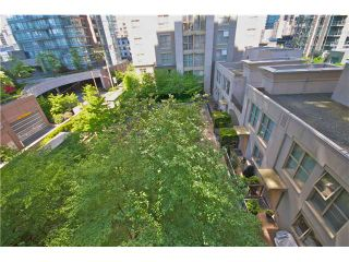 """Photo 9: 605 989 RICHARDS Street in Vancouver: Downtown VW Condo for sale in """"THE MONDRIAN"""" (Vancouver West)  : MLS®# V833931"""