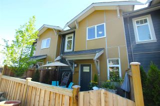 """Photo 1: 109 801 RODERICK Avenue in Coquitlam: Coquitlam West Townhouse for sale in """"VILLAGE AT BLUE MOUNTAIN"""" : MLS®# R2061786"""