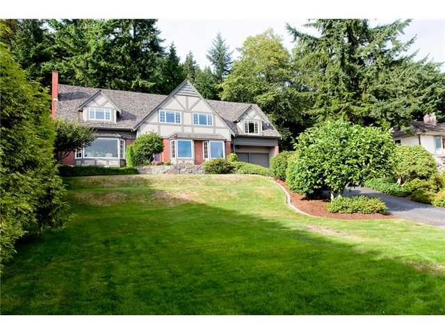 Main Photo: 1111 Crestline Road in West Vancouver: British Properties House for sale : MLS®# V911387