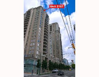 """Photo 1: 2107 989 RICHARDS Street in Vancouver: Downtown VW Condo for sale in """"MONDRIAN"""" (Vancouver West)  : MLS®# V713987"""