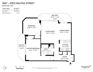 """Photo 4: 1607 4353 HALIFAX Street in Burnaby: Brentwood Park Condo for sale in """"Brent Garden"""" (Burnaby North)  : MLS®# R2531063"""