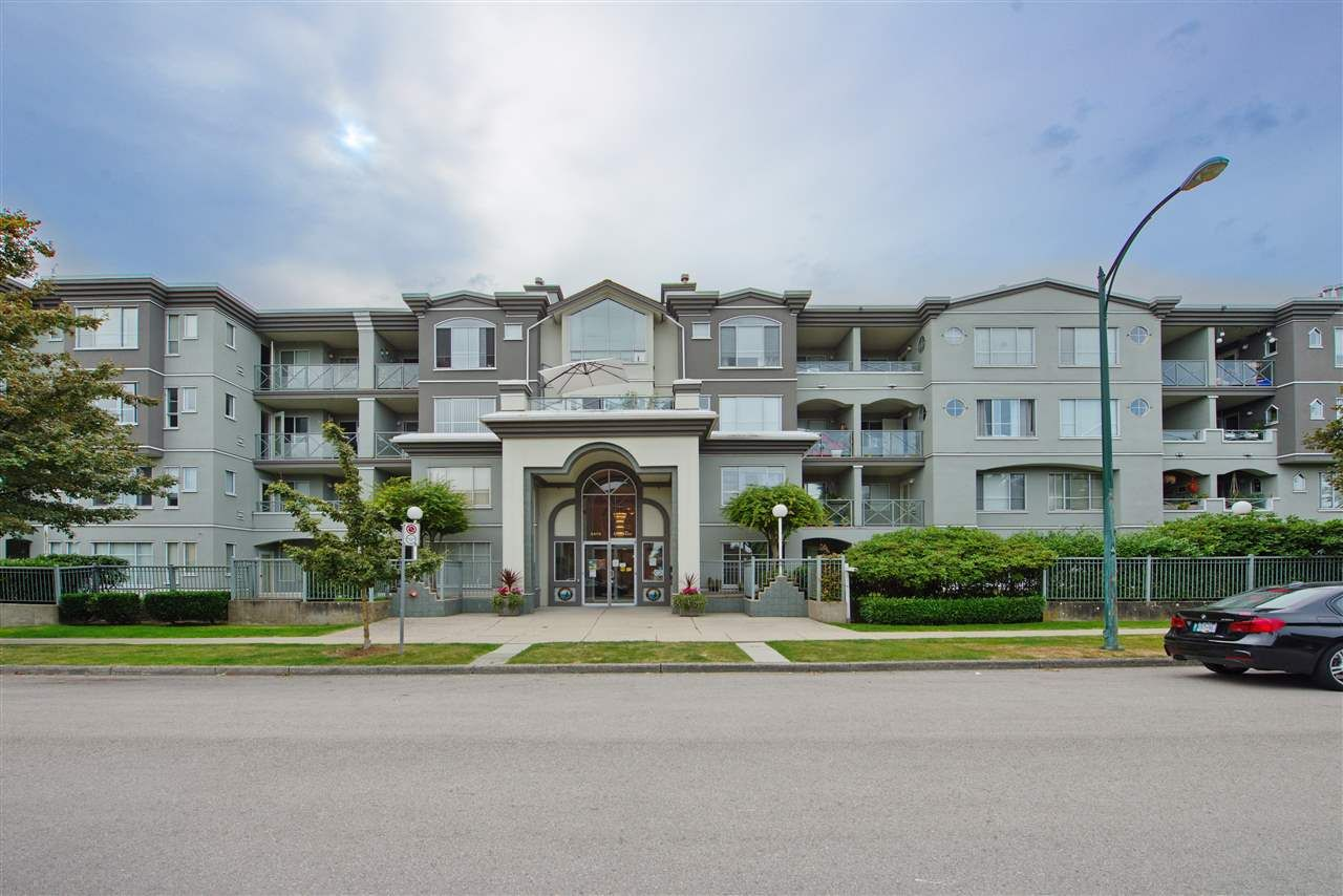 """Main Photo: 102 6475 CHESTER Street in Vancouver: Fraser VE Condo for sale in """"Southridge House"""" (Vancouver East)  : MLS®# R2510651"""