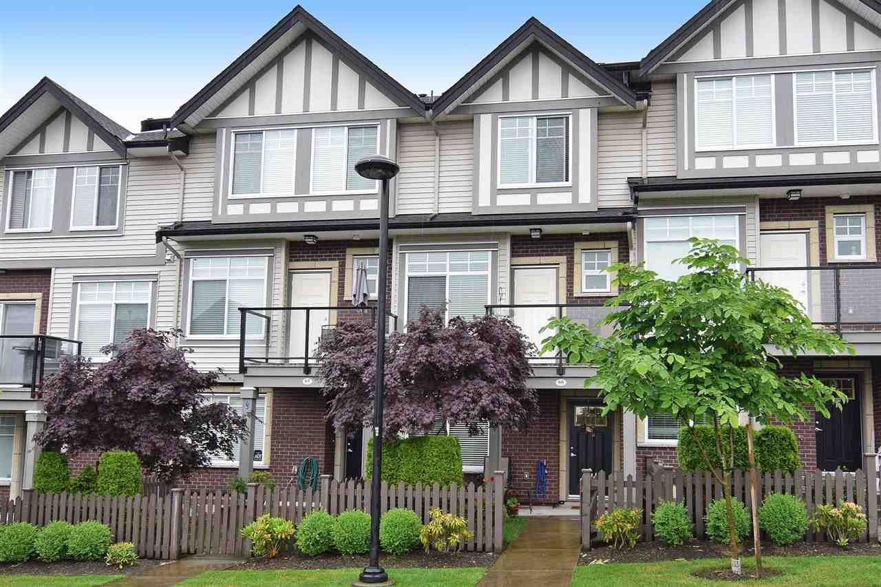 Main Photo: 66 7090 180 STREET in Surrey: Cloverdale BC Townhouse for sale (Cloverdale)  : MLS®# R2176031