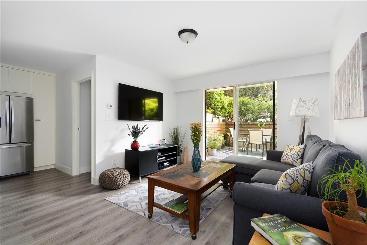 Main Photo: 107 215 N TEMPLETON DRIVE in Vancouver: Hastings Condo for sale (Vancouver East)  : MLS®# R2458110