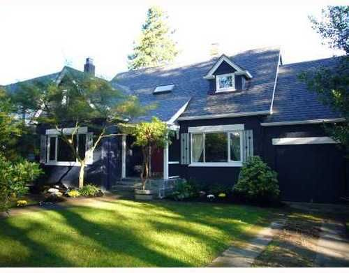 Main Photo: 3821 WEST BROADWAY in Vancouver West: Point Grey Home for sale ()  : MLS®# V670161