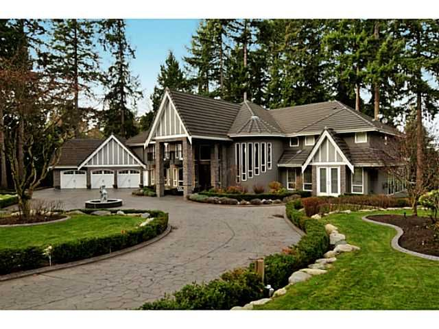 """Main Photo: 12855 CRESCENT Road in Surrey: Elgin Chantrell House for sale in """"Crescent Beach / Ocean Park"""" (South Surrey White Rock)  : MLS®# F1413765"""
