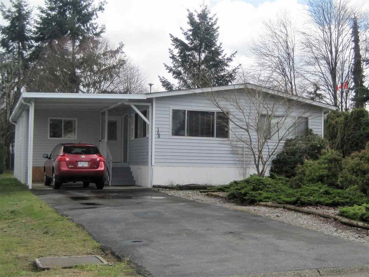 """Main Photo: 168 145 KING EDWARD Street in Coquitlam: Maillardville Manufactured Home for sale in """"MILL CREEK VILLAGE"""" : MLS®# R2037334"""