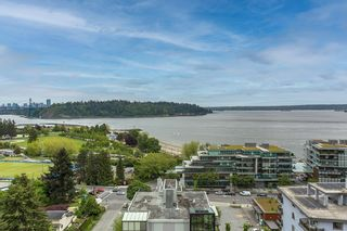 """Photo 23: 602 555 13TH Street in West Vancouver: Ambleside Condo for sale in """"Parkview Tower"""" : MLS®# R2591650"""