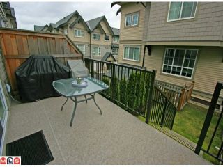 """Photo 8: 256 2501 161A Street in Surrey: Grandview Surrey Townhouse for sale in """"HIGHLAND PARK"""" (South Surrey White Rock)  : MLS®# F1209955"""