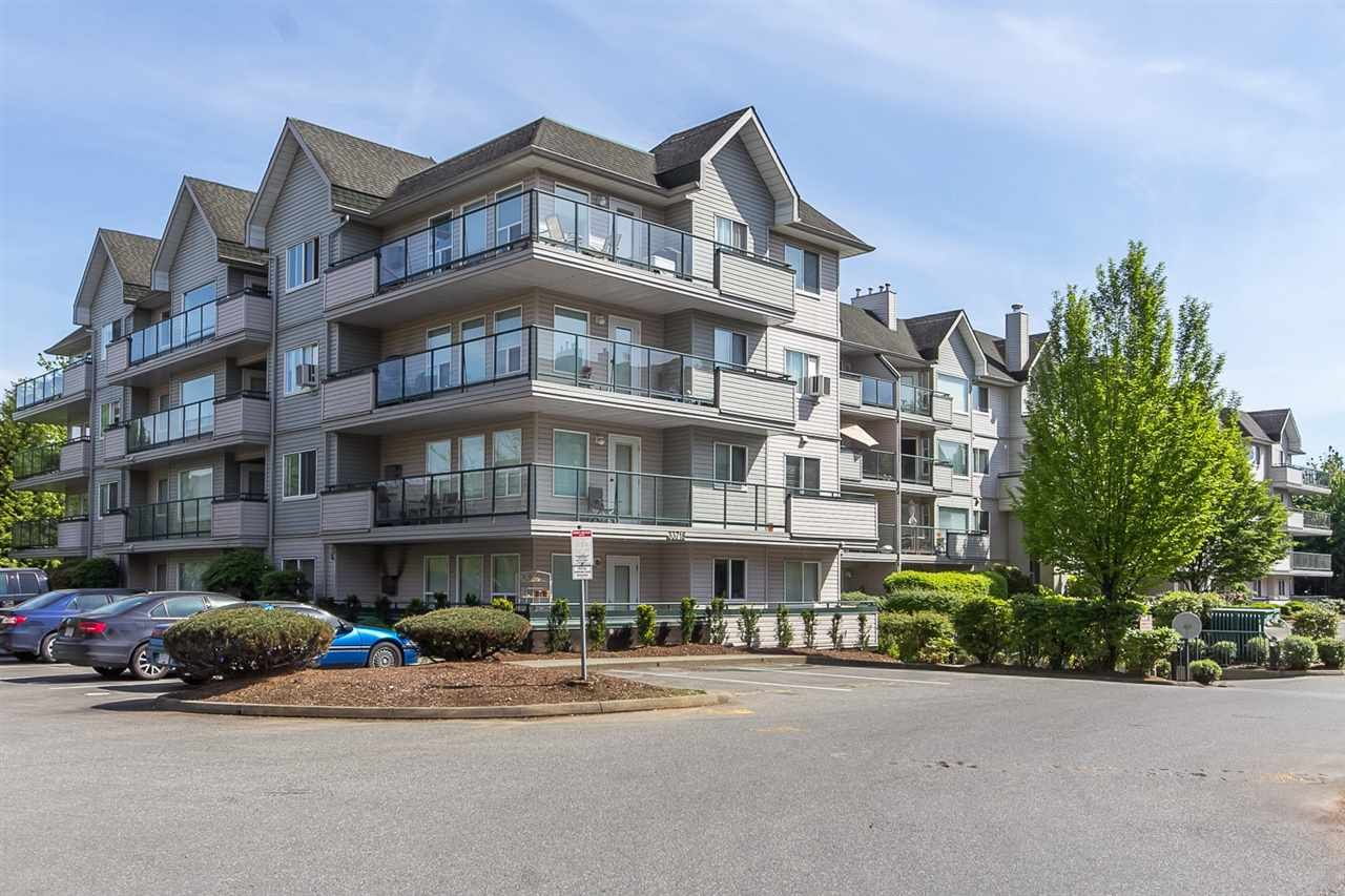 "Main Photo: 403 33718 KING Road in Abbotsford: Poplar Condo for sale in ""College Park"" : MLS®# R2063813"