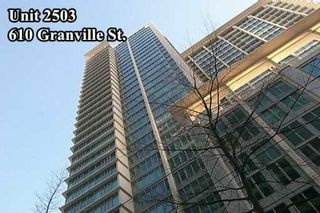 """Photo 2: 610 GRANVILLE Street in Vancouver: Downtown VW Condo for sale in """"THE HUDSON"""" (Vancouver West)  : MLS®# V622586"""