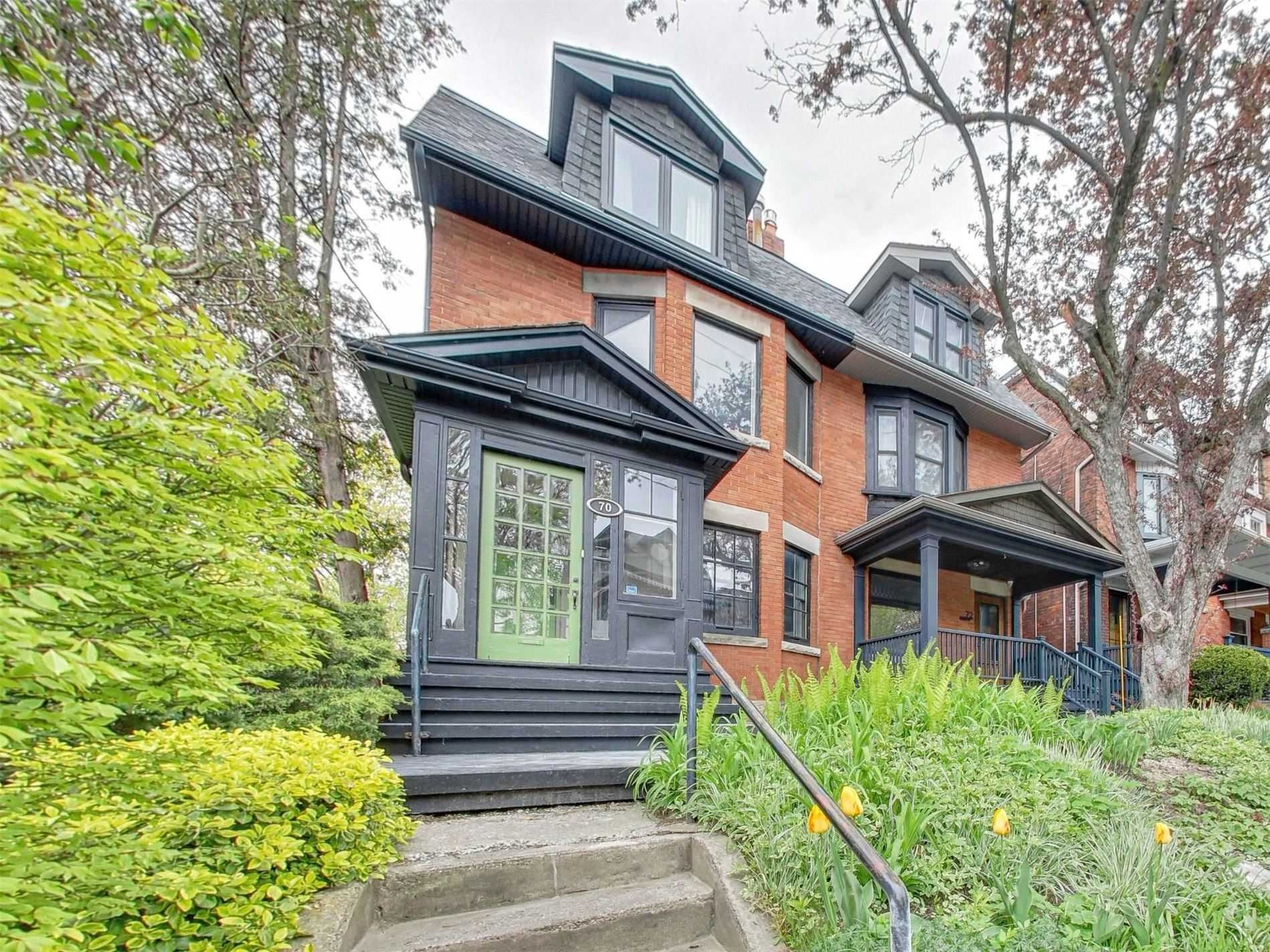 Main Photo: 70 Indian Road in Toronto: High Park-Swansea House (3-Storey) for sale (Toronto W01)  : MLS®# W5231966